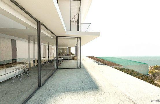 Villa de nueva construción con vistas fantásticas al mar
