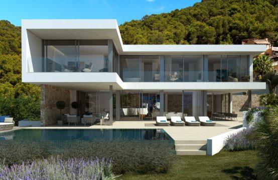 Formidable Cala Llamp Villa