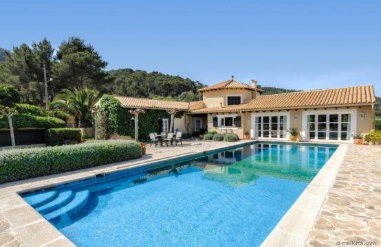 Mediterrane Villa in Lauflage von Puerto Andratx
