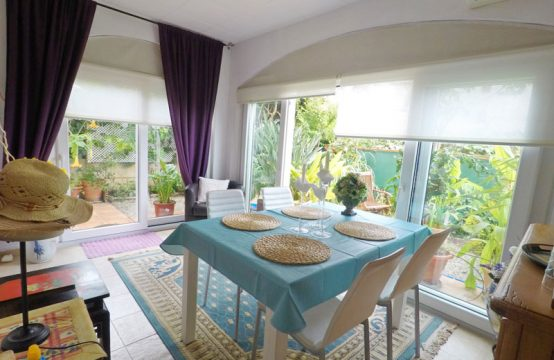 Bright cosy garden apartment in Paguera