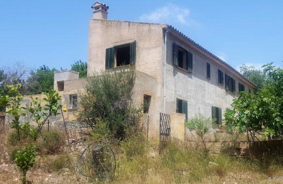 Neubau Finca zum Ausbau in Andratx