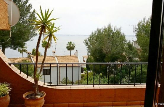 Duplex apartment in Port Alcudia with beautiful sea views