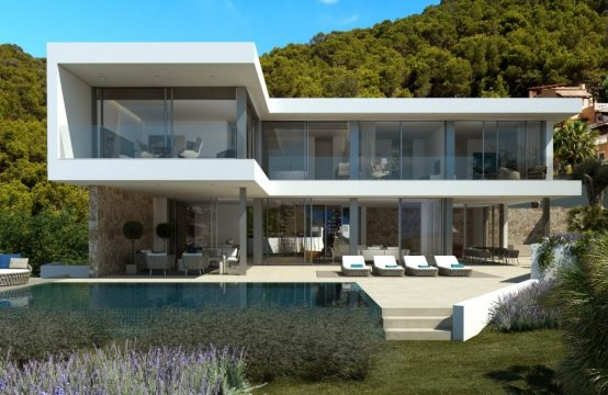 Villa moderna de nueva construcción en Puerto Andratx