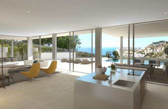 Anspruchsvolle Villa in der Cala Llamp