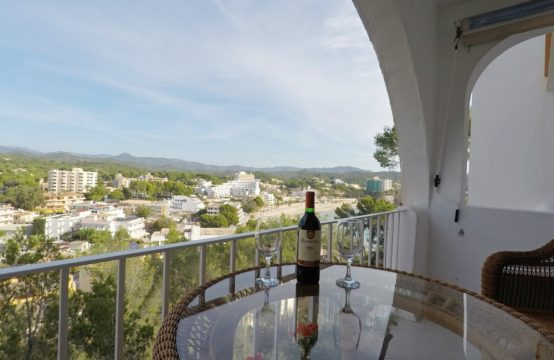 Cosy sea view apartment in Cala Fornells – Paguera