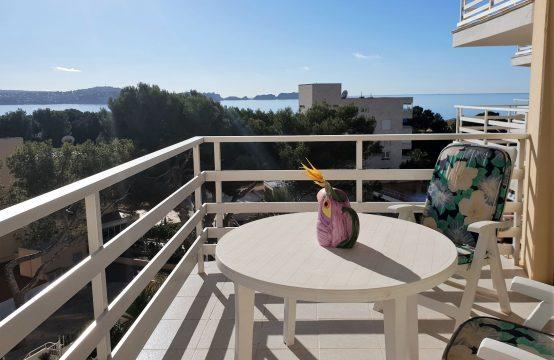 Wohnung mit Meerblick und Strandzugang in Paguera