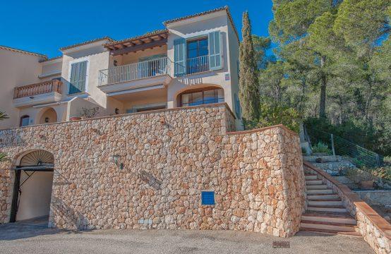 Fantástica casa con vistas al puerto de Port Andratx en ubicación privilegiada