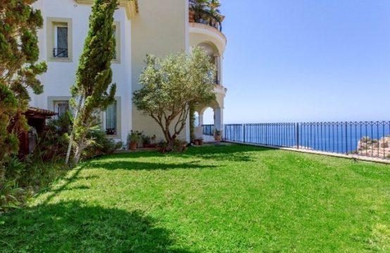 Preciosa planta baja con Jardín y vistas al mar en Puerto de Andratx