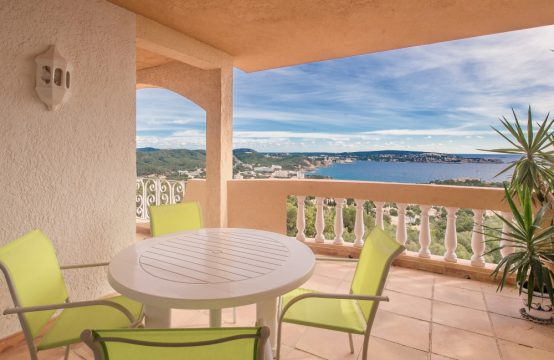 Miete! Apartment mit atemberaubendem Meerblick in Paguera