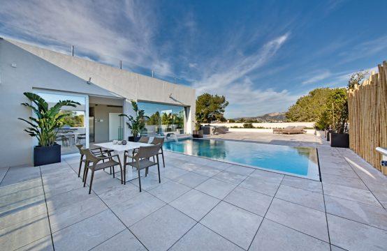 Moderne Neubau-Villa mit Berg- und Meerblick in Santa Ponsa