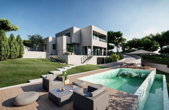Moderne Neubauvilla nahe Port Adriano
