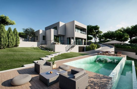 Modern new build villa near Port Adriano