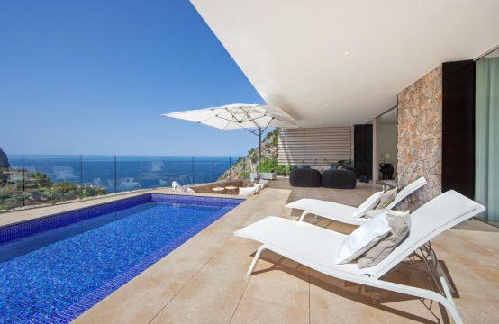 Luxus – Doppelhaushälfte mit fantastischem Meerblick in Puerto Andratx