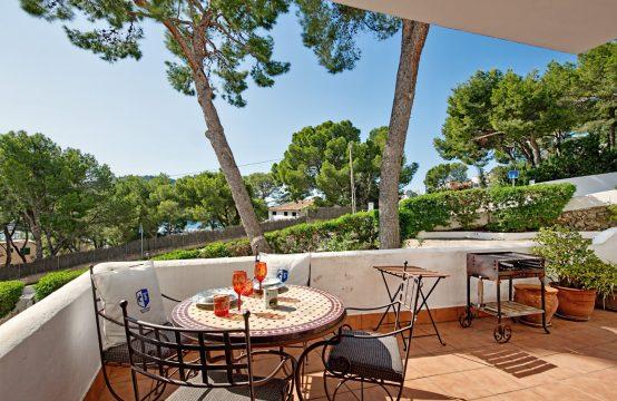 Apartamento bonito con gran terraza en Puerto Andratx