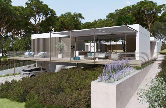 Santa Ponsa: Beeindruckende moderne Villa zum Erstbezug