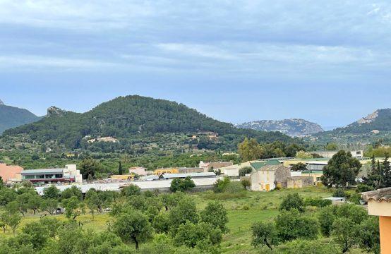 Andratx village: ático con vistas panorámicas